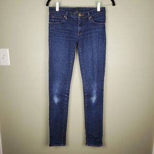 Juicy Couture Skinny Blue Denim Jeans Size 25